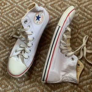 White Chuck Taylor Converse